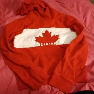 Old Navy Shirts & Tops - Red canada hoodie